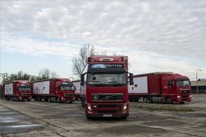 Ötvenhat tonnányi segély indult Ukrajnába