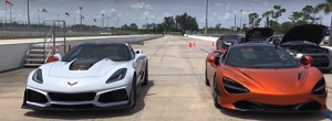 McLaren 720S vs 2019 Chevrolet Corvette ZR1