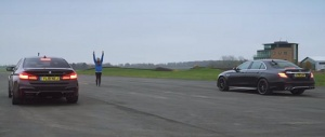 Mercedes-Benz E63 S vs BMW M5 Competition