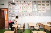 Nagytakarítást végeznek a héten a budapesti Krúdy általános iskolában